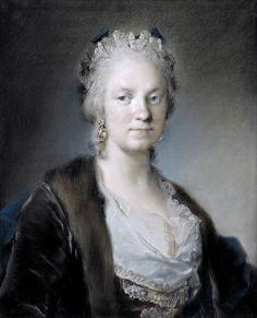 Rosalba Carriera · Autoritratto da vecchia · 1746 · The Royal Collection Trust
