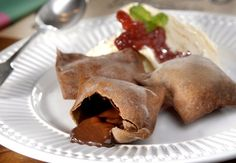 O ravioli recheado de brigadeiro é uma das receitas criadas pela chef Mariana Valentini para a rotisseria Brodo (Foto: Divulgação)
