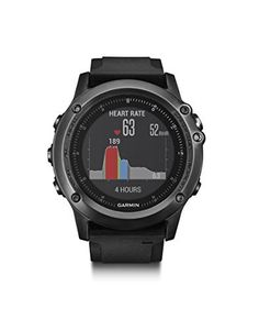 Garmin Fenix 3 HR Gray Smartwatch #smartwatch #wristwatch #menwatches #shopinzar