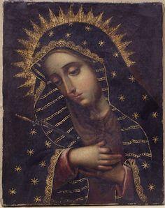 The Sorrowing Virgin         18th century   Spanish Colonial