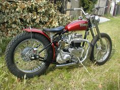 pre unit triumph motorcycle | Triumph pre unit Bobber : thee classic motorcycle days