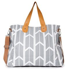White Elm Arrows Weekender Bag  Potential Diaper Bag