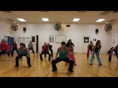 "PITBULL - ""Shake Senora"" -  Choreography for Dance Fitness We do this song sometimes- but different routine."