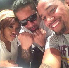 Jimmy Jey USO & Alicia Fox
