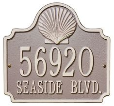 Tiger Classic Style Custom House Number Sign For Homes Flats Outdoor Plaque Suitable For All Types Of Wall Durable Colour Print