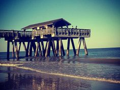 """ISLAND RETREAT: """"We loved our stay! I have been coming down to Tybee Island at least twice a year for the past 2 years. Every one is always friendly, the food is always great, and of course the beach is my favorite part."""" #tybee #tybeeisland #beach #travel #vacation #savannah #georgia"""