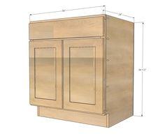 Ana White Build A 30 Sink Base Momplex Vanilla Kitchen Free And
