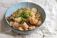 Braised Chicken Legs With Turnips And Radishes Recipe on Yummly