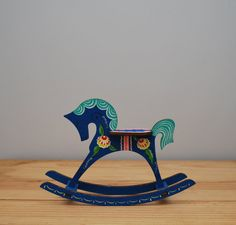 Dala rocking horse by LostPropertyVintage, £10.00