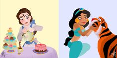 Mica's Art — Disney Princesses + Friends !!! Which is your...