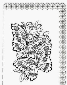 from www.pheemcfaddell.com   !my coloring pages   pinterest ... - Advanced Coloring Pages Butterfly