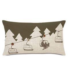 Found it at AllModern - Ski Lodge Up Lift Lumbar Pillow