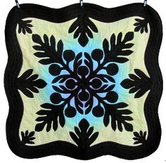 Breadfruit Hawaiian Applique Quilt Pattern