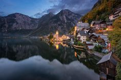 Most beautiful village in Austria, Hallstatt.Most Beautiful Photos Of Austria Outdoors Places Around The World, Oh The Places You'll Go, Travel Around The World, Places To Travel, Places To Visit, Around The Worlds, Beautiful World, Beautiful Places, Stunningly Beautiful