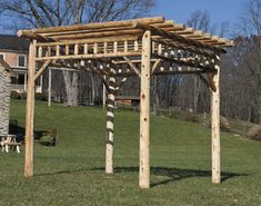 1000 images about wooden gazebo kits on pinterest for Rustic gazebo plans