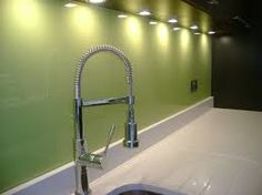 green glass splashback - Google Search