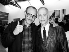 Terry Richardson and John Waters.