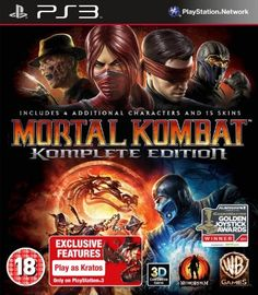 mortal kombat game of the year edition ps amazonco