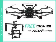 Freefly ALTA 8 + Free MōVI M10