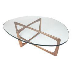 Ion Design // Asymmetric Scandinavian Sculptural Art Vlad Coffee Table