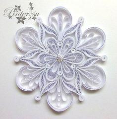 Quilled+snowflake+by+pinterzsu.deviantart.com+on+@DeviantArt