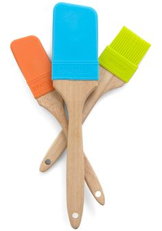 Paintbrush spatulas. Why don't I own these already?