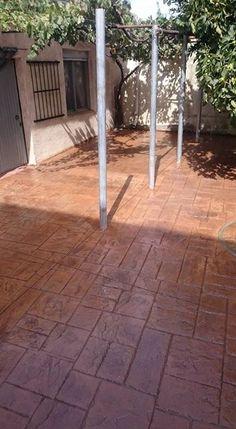 213 mejores im genes de pavimentos de hormig n estampados pavimento impreso estampado y - Pavimento de corcho ...