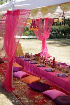 Arabian Belly Dancer Party with Lots of Really Cute Ideas via Kara's Party Ideas | KarasPartyIdeas.com #BellyDancerParty #ArabianPrincessPar...