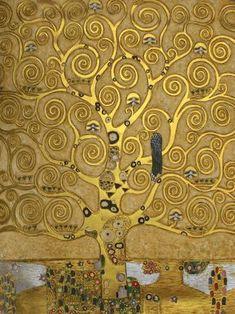 Gustav Klimt - Tree of Life                                                                                                                                                                                 More