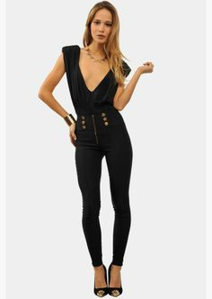 high waist + deep v.. I need this A$AP!! Omg Love this look! #sexy #datenight