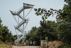 Vyhliadková veža Devínska Kobyla Golden Gate Bridge, Travel, Viajes, Destinations, Traveling, Trips