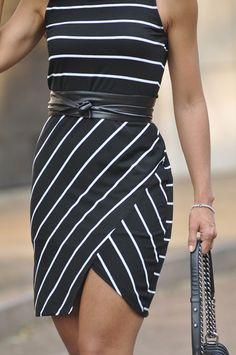 Look Do Dia – Listras Preto e Branco para entrar na tendência