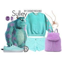 Disney Bound - Sulley