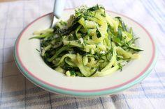Zucchini spaghetti | clementinecuisine