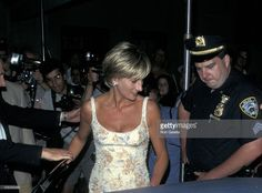Princess Diana during Dinner Party After Princess Diana's Christie's Auction at Nan Kempner's Park Avenue Apartment in New York City, New York, United States.