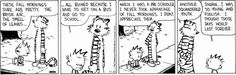 Today on Calvin and Hobbes - Comics by Bill Watterson Calvin Und Hobbes, Calvin And Hobbes Comics, School Humor, I School, Humerous Quotes, Dry Sense Of Humor, Kids Book Club, Autumn Morning, Classic Comics