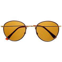 Leather Wrapped Classy Retro Vintage Designer Round Sunglasses R1850 ($13) ❤ liked on Polyvore featuring accessories, eyewear, sunglasses, glasses, retro style sunglasses, wrap glasses, retro glasses, wrap sunglasses and round frame glasses