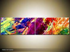 Abstraktní obrazy | Čtyřdílný 160x40 cm | TopObrazy.cz Tapestry, Home Decor, Hanging Tapestry, Tapestries, Decoration Home, Room Decor, Home Interior Design, Needlepoint, Wallpapers