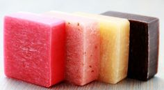 14 homemade soap recipes including lollipop soap (yes, soap on a stick!) cucumber, oatmeal, and more.