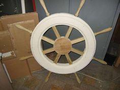styrofoam and wood