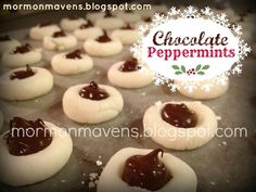 Mormon Mavens in the Kitchen: Chocolate Peppermints