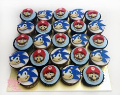 sonic and mario birthday cake - Google Search