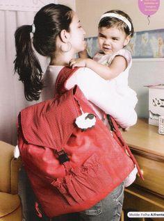 Vancrisk Arteira=): Como fazer uma mochila tapete para bebê