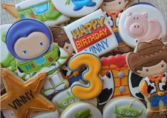 Toy Story cookies by Flourish