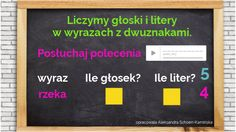 Discover more about głoski, litery w wyrazach z dwuznakami ✌️ - Personalized Company Logo, Education, Frame, Kids, Therapy, Picture Frame, Young Children, Boys, Children