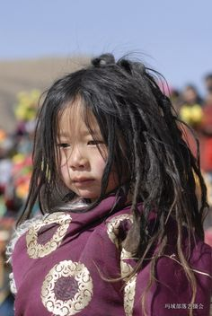 Child at grassland festival in Golog, Amdo, Tibet. Too beautiful not to post