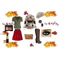 """Fall Outing"" by littlefurbyperkins on Polyvore"