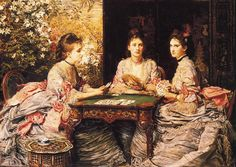 Hearts are Trumps, John Everett Millais