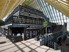 Spijkenisse Book Mountain and Library by MVRDV via notcot