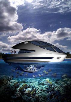 Floating underwater resort!